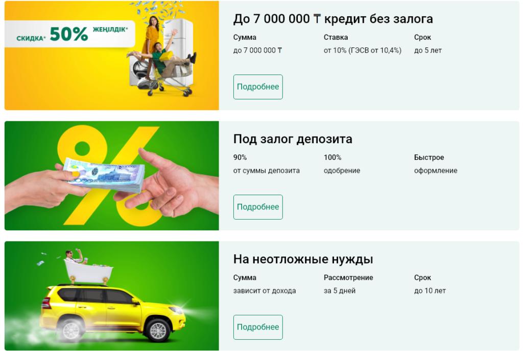 Кредит в Халык Банке Казахстана - условия и проценты