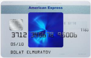 American Express Blue